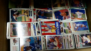 Lot of Over 7500 Baseball Cards