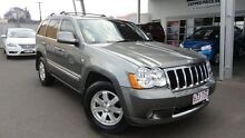 2009 Jeep Grand Cherokee WH MY2010 Limited Grey 5 Speed Automatic Wagon Toowoomba 4350 Toowoomba City Preview