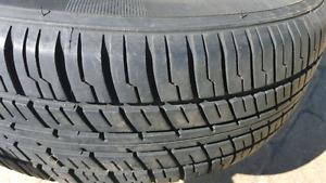 Quatre pneus d'été 175 70 13 hyundai accent