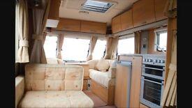 Swift Charisma 590 6 Berth Caravan,inc Full Dorema awning