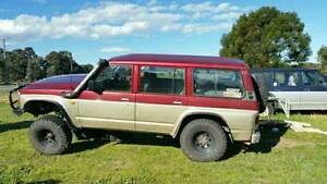 gq Nissan Patrol 4x4,comp truck,nissan Morwell Latrobe Valley Preview