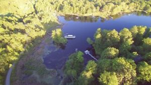 Waterfront Lot on Whitefish Lake For Sale