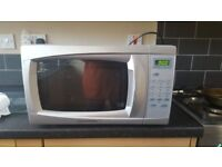 digital microwave oven,some age related marks but works fine