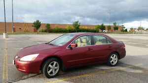 2003 Honda Accord EX-L Sedan - ETEST - LEATHER - SUNROOF