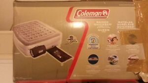 Queen Size Coleman's Air Bed for Sale (Plus FREE Comforter Set)