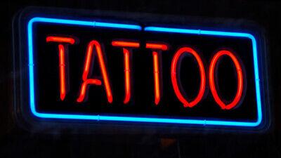 New Tattoo Pub Wall Decor Acrylic Neon Light Sign - Neon Tattoo