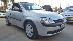 2003 Holden Barina XC SXI Silver 5 Speed Manual Hatchback Wentworthville Parramatta Area Preview