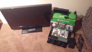 XBox One, TV, 5 games