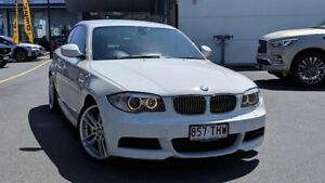 2013 BMW 135i E82 LCI MY1112 M Sport D-CT White 7 Speed Sports Automatic Dual Clutch Coupe