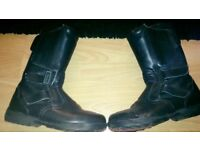Hein gericke women's bike boots size 5 excellent condition