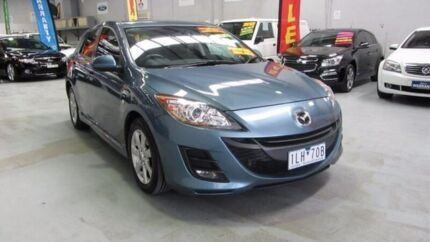 2010 Mazda 3 BL10F1 MY10 Maxx Activematic Sport Blue 5 Speed Sports Automatic Hatchback