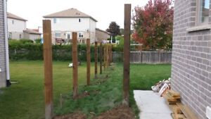 Level Post Digging and Setting - Fences and Decks London Ontario image 8