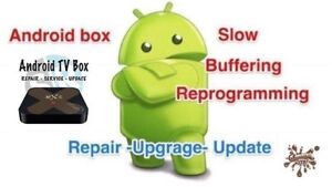Android media box services