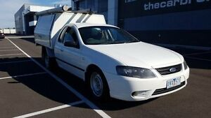 2007 Ford Falcon BF MkII XL (LPG) Tradesman White 4 Speed Auto Seq Sportshift Cab Chassis Altona North Hobsons Bay Area Preview