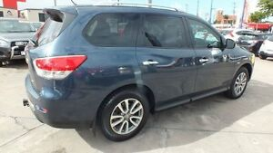 2013 Nissan Pathfinder R52 MY14 ST X-tronic 2WD Blue 1 Speed Constant Variable Wagon Townsville Townsville City Preview