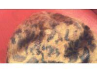 Warm Angora-blend Beret/Hat, excellent condition