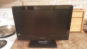 "Emerson 19"" Inch LCD Flat Screen TV With A Built-In DVD Player!"