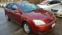 2005 Toyota Corolla ZZE122R Ascent Seca Burgundy 4 Speed Automatic Hatchback Maidstone Maribyrnong Area Preview