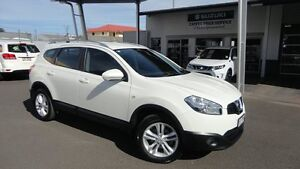 2013 Nissan Dualis J107 Series 4 MY13 +2 HATCH X-TRONIC 2WD ST White 6 Speed Constant Variable Toowoomba Toowoomba City Preview