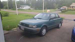 1996 Nissan Sentra Coupe (2 door)