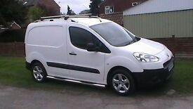 Peugoet Partner 92 bhp 2014 White Van NO VAT