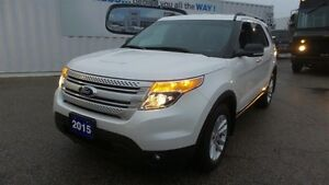 2015 Ford Explorer XLT, 4WD, 7 Pass, Trade In