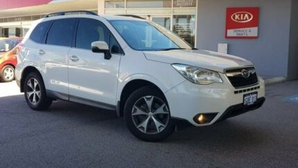 2015 Subaru Forester S4 MY15 2.5i-L CVT AWD Special Edition White 6 Speed Constant Variable Wagon Glendalough Stirling Area Preview