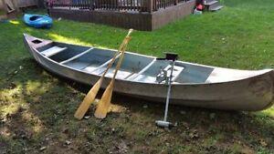 15' Springbok Aluminum Canoe