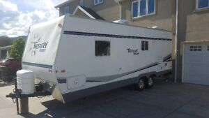 2007 terry resort 25 feet travel trailer