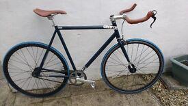 Charge Plug Fixed wheel bike