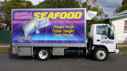 Large Successfull Seafood Truck Buisness For Sale Boonah Ipswich South Preview
