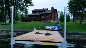 Shoreview waterfront cottage rental