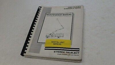 Terex Hi-ranger Xt Aerial Lift Maintenance Manual Ci214