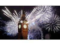 NYE London New Year Eve Fireworks Tickets - BLUE AREA - Best View (£60 each or £160 for 4)