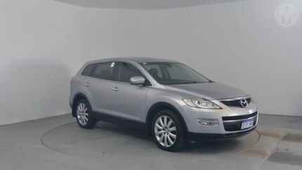 2008 Mazda CX-9 TB10A1 Luxury Silver 6 Speed Sports Automatic Wagon Perth Airport Belmont Area Preview