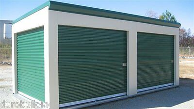 Durosteel Janus 8x8 Commercial 1000 Series Metal Roll-up Door Hdwe Direct