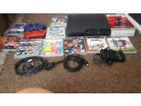 Large ps3 bundle and steering wheel