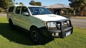 2009 Toyota Hilux KUN26R MY10 SR5 White 4 Speed Automatic Utility Welshpool Canning Area Preview