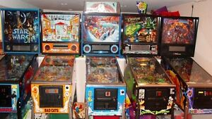Pinball Machines Wanted Cash Paid Pin ball