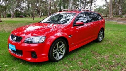 2012 Holden Commodore VE II MY12 SV6 Sportwagon Red 6 Speed Sports Automatic Wagon