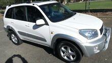 2002 Toyota RAV4 ACA21R Cruiser (4x4) White 4 Speed Automatic 4x4 Wagon Granville Parramatta Area Preview
