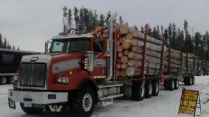 Quad Logger:  2014 Western Star.  Finance for only $2858.70 /mo