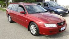 2005 Holden Commodore VZ Equipe Red 4 Speed Automatic Wagon Victoria Park Victoria Park Area Preview