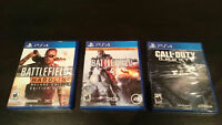 PS4 games for sale or trade!  - Excellent Condition!