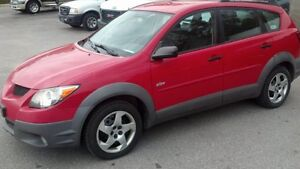 2003 Pontiac Vibe Hatchback Certified and Etested