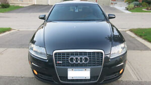 2008 Audi A6 SLine Premium Navigation Backup Camera etc.