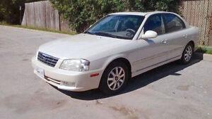 2002 Kia Magentis SE w/Leather Pkg Sedan V6  2.7L