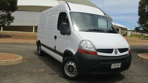 2008 Renault Master X70 MY07 MWB White 6 Speed Tiptronic Van Gepps Cross Port Adelaide Area Preview