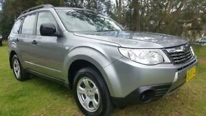 2008 Subaru Forester MY09 X Silver 4 Speed Auto Elec Sportshift Wagon Tuggerah Wyong Area Preview