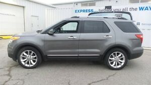 2012 Ford Explorer Limited, Lthr, Moon, Nav, Local Trade In Kitchener / Waterloo Kitchener Area image 2